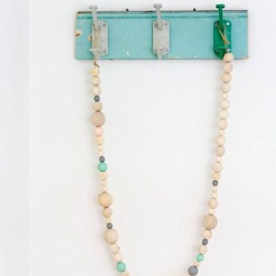 IDA wooden beads garlands {the last three}