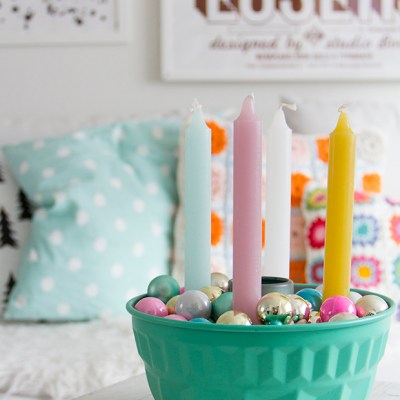 DIY: advent candles #IDAstyle