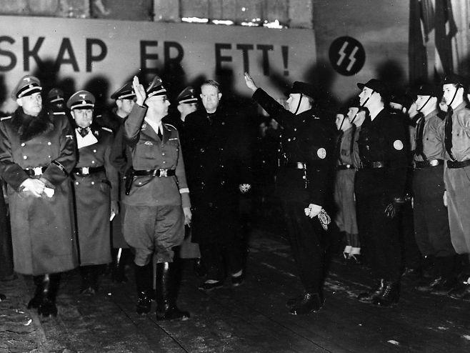 Himmler og de norske rekruttene