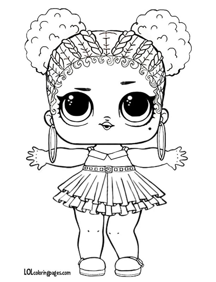 Картинки ЛОЛ куклы фиолетовая королева