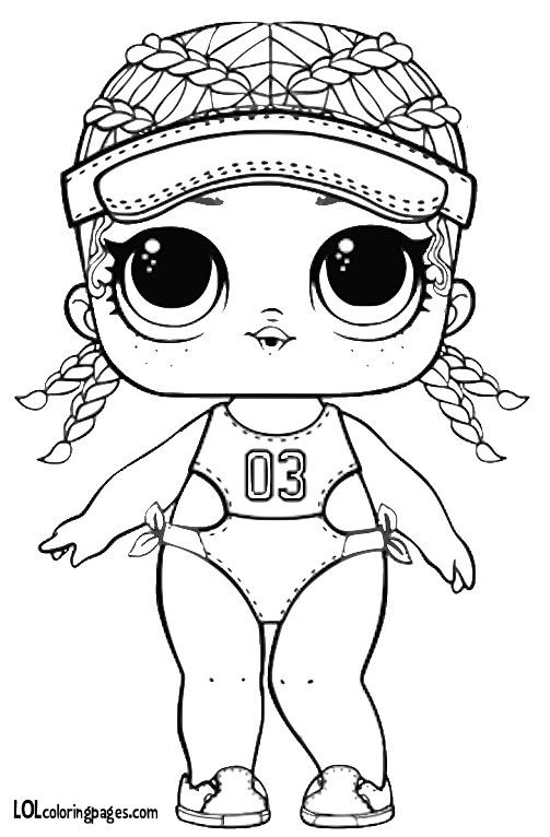 Кукла ЛОЛ картинка spike