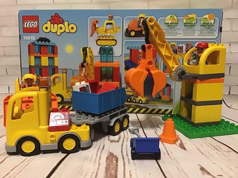 Большая стройплощадка Лего Дупло