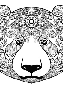 Bears - Free printable Coloring pages for kids1