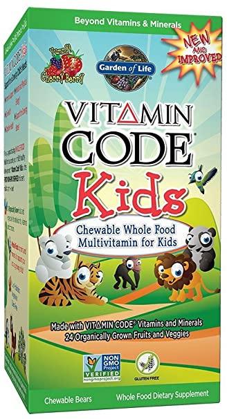 Garden of Life, Vitamin Code Kids