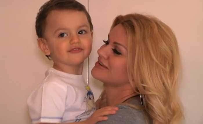 Ирина Круг и сын Андрей