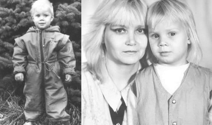 Алла Михеева в детстве