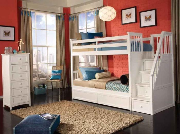 Кровать два этажа фото