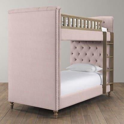 Кровать девочки со ступеньками