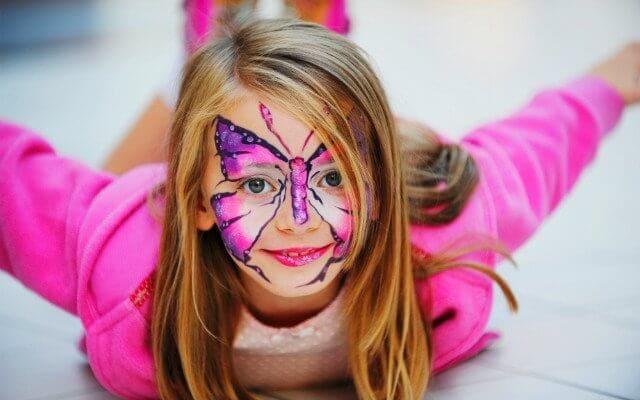 Детский макияж фото