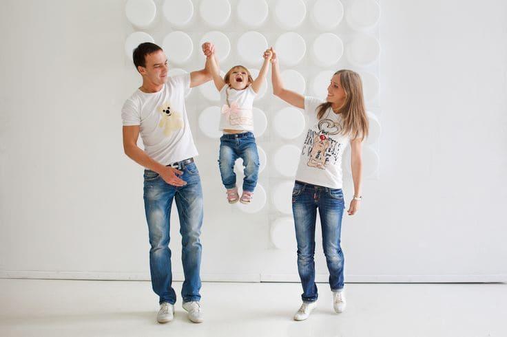 Семья фотосессия