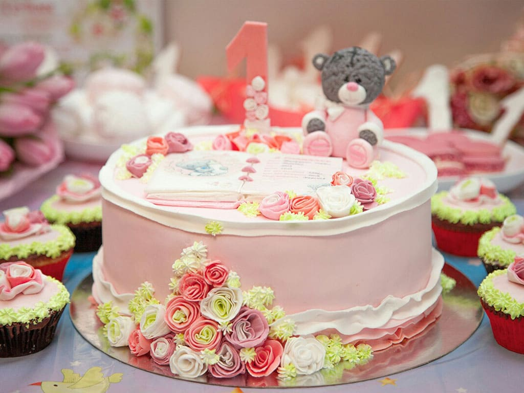 Детские торты на день рождения фото