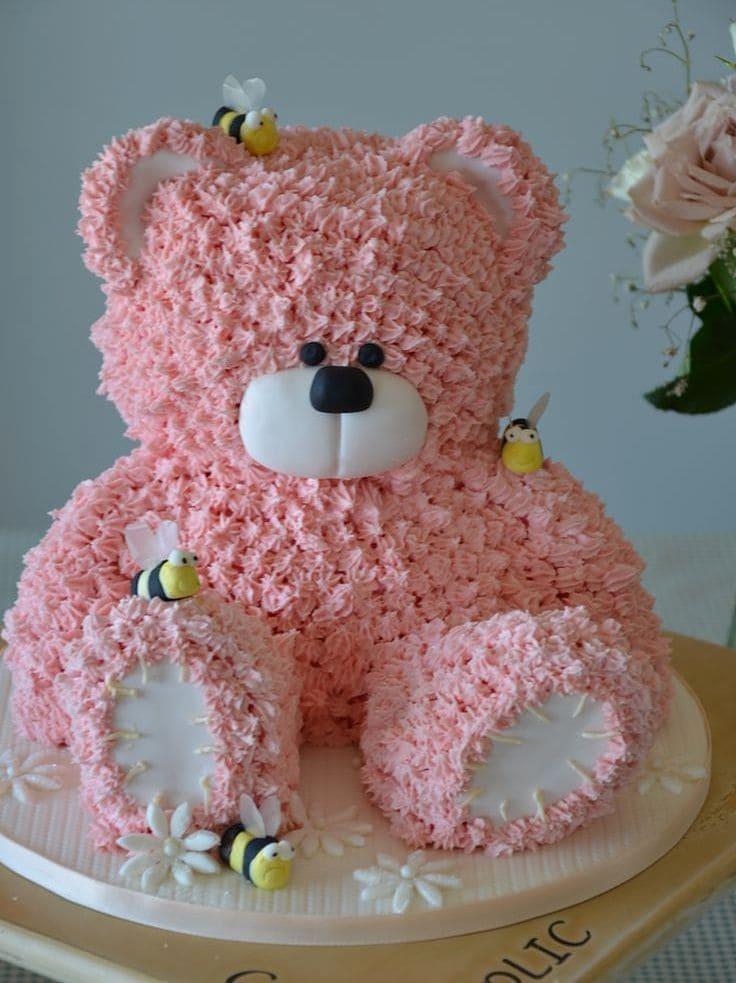Яркий детский торт