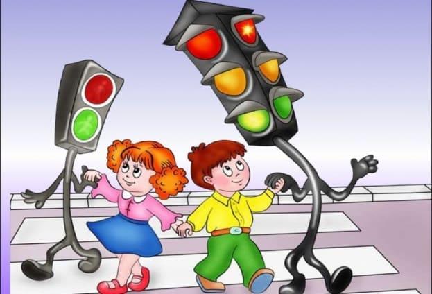 Модель светофора для детей
