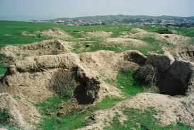 アフラシアブの丘
