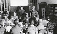 ペニンシュラ・ホテルで行われた日英軍の降伏交渉