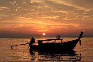 クラビの夕日