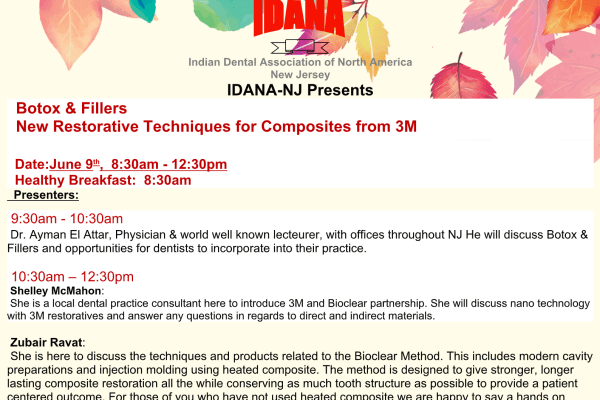 Botox & Fillers  New Restorative Techniques for Composites from 3M