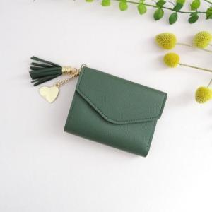 Portefeuille Alice vert émeraude