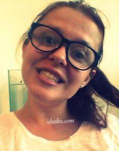Crazy attitude with nerdy glasses