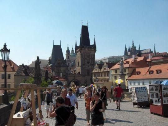 Le pont Charles : le lien entre la Vieille Ville et le Château (Tourisme Prague) 1