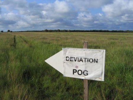 Déviation POG