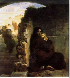 Léon Cogniet (1794-1880) : le massacre des Innocents. 1824. Rennes, Musée des Beaux Arts.