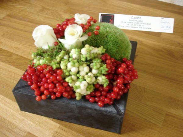 Composition Florale Boule Cheap Crations Florales With