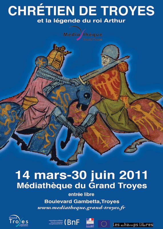 Affiche Chrétiens Troyes