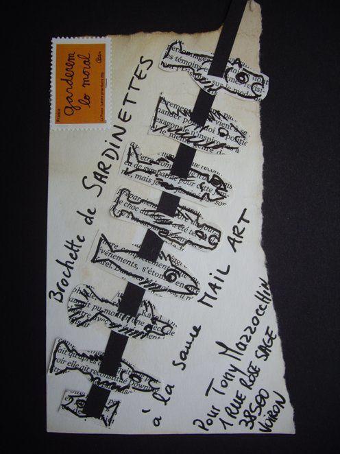 Brochette sauce mail art