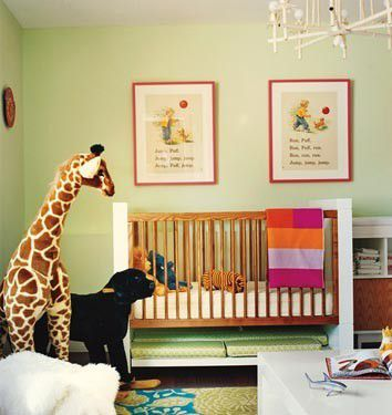 green-nursery-via-st houzz