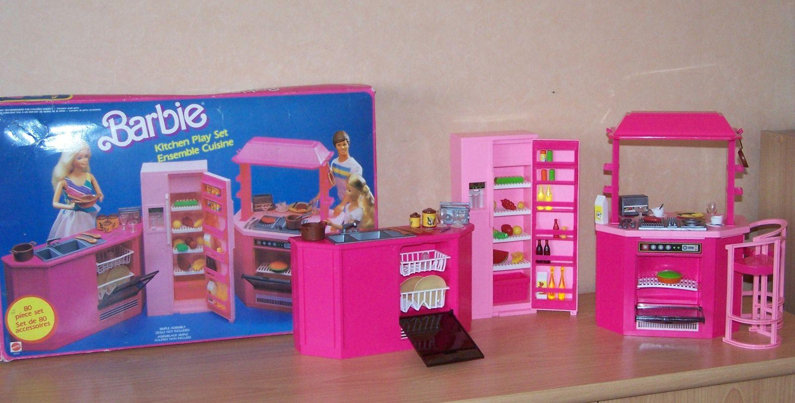 barbie mattel playsets et mobilier