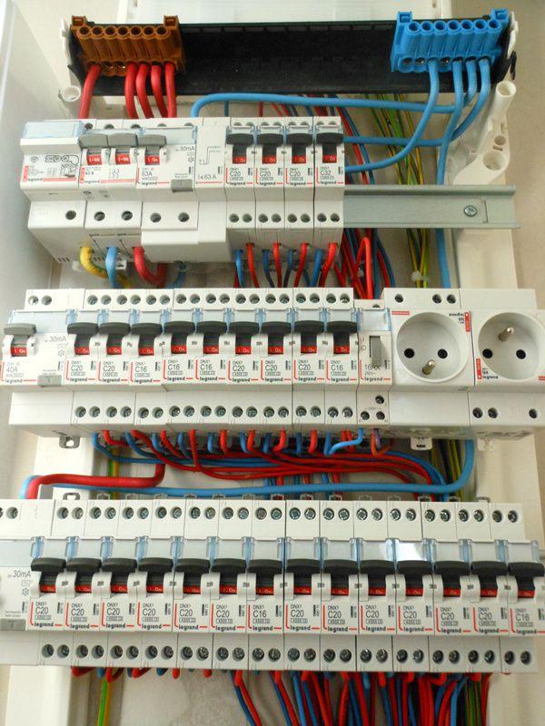 Branchement Tableau Electrique Schema Electrique