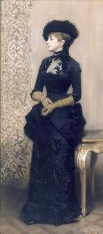 La femme aux gants