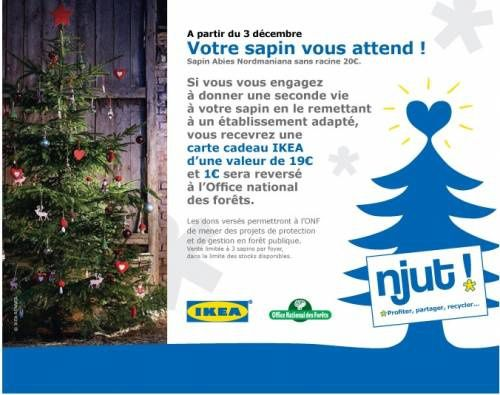 Le Sapin Ikea Et Moi Lulu From Montmartre