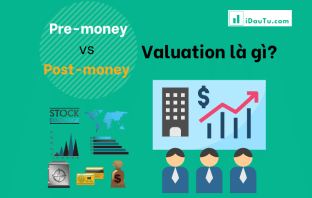Pre-money vs Post-money Valuation là gì?