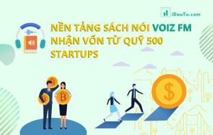 Nền tảng sách nói Voiz FM nhận vốn từ quỹ 500 startups