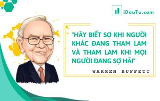 """5 quan niệm sai lầm về lời khuyên của Warren Buffett: """"Hãy tham lam khi mọi người sợ hãi"""""""