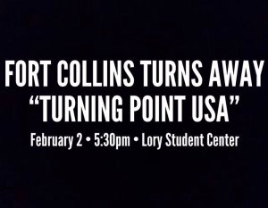 Turning Point USA to Have Some Opposition in Colorado! @ Lory Student Center, Colorado State University