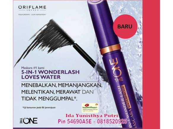 The-One-5-in-1-Wonderlash-Waterproof-Mascara Black-31492 banner
