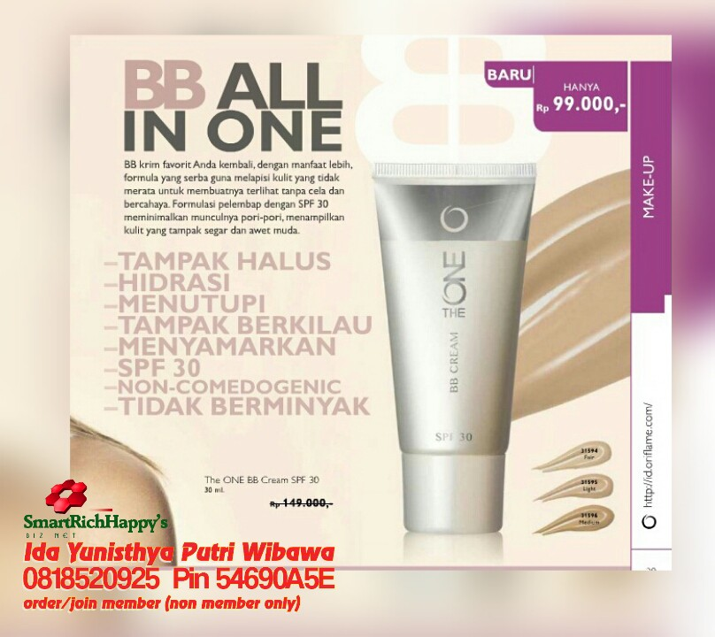 bb all in one oriflame