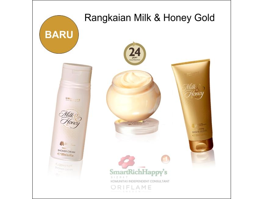 RAngkaian milk & Honey Gold Baru
