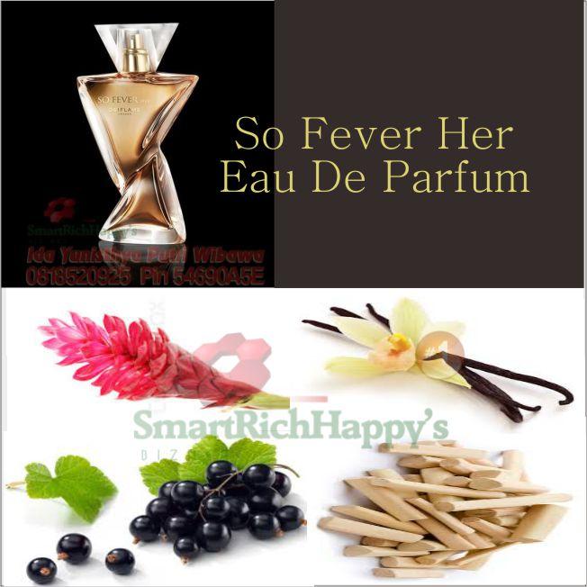 Komposisi So Fever Her Eau De Parfum 31099