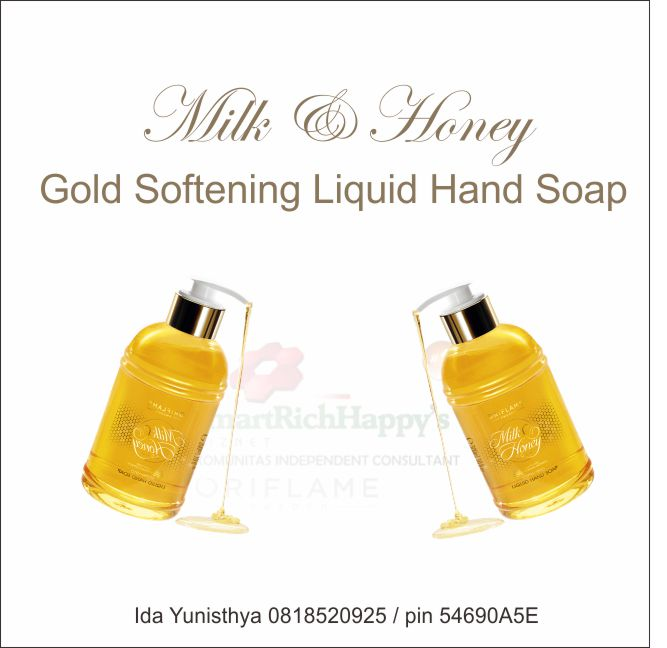 Milk & Honey Gold Softening Liquid Hand Soap 31603