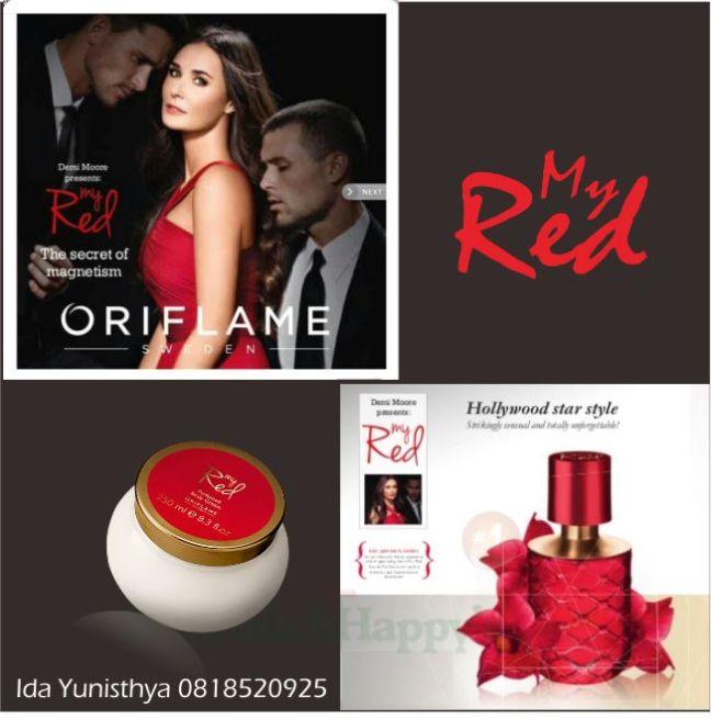 My Red Eau De Parfum & My Red Perfumed Body Cream