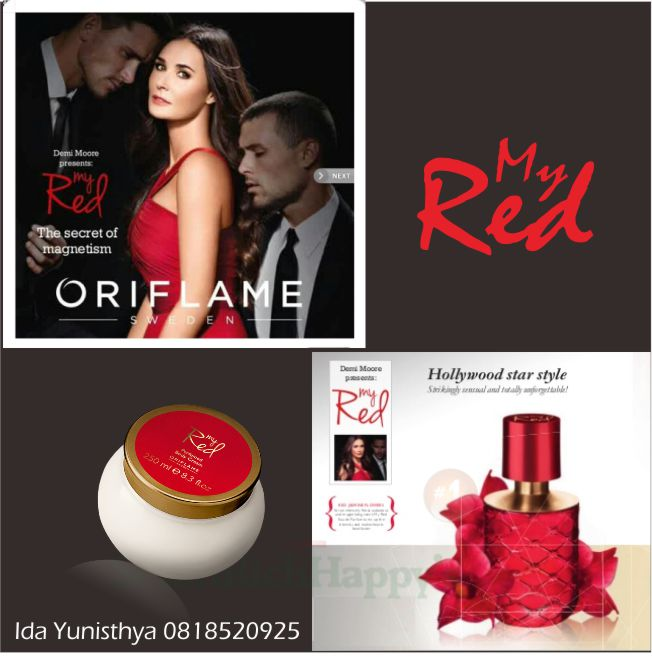 My Red Eau De Parfum & My Red Perfumed Body Cream