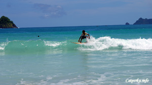 Selong Belanak beach suitable for beginners who want to learn surfing