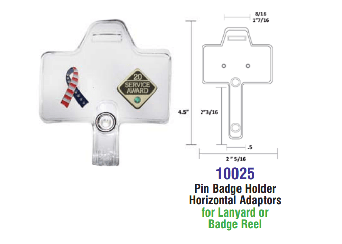 10025 PIN Adapter Specs