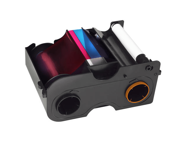 HID Fargo DTC1000-YMCKOK Printer Ribbon - 45010