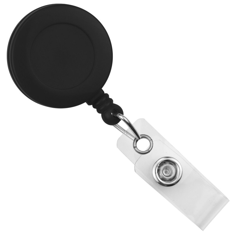 Swivel Spring Clip Round Badge Reel