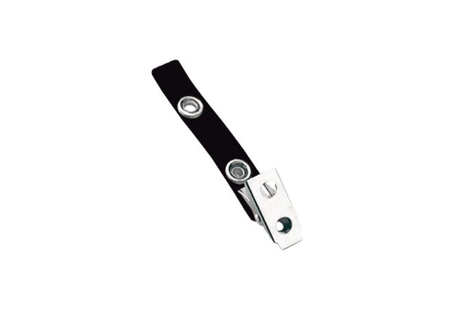 "Standard Strap Clip Color Vinyl Bulldog Clip 2 3/4"" strap"